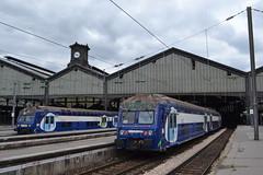 SNCF Transilien (Will Swain) Tags: city travel paris france st train de french europe gare centre north transport july rail railway trains des rouen normandie 12th railways franais socit parisian fer nationale lazare 2015 chemins
