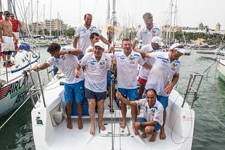 """La tripulación del """"Movistar"""", vencedora de la Copa del Rey MAPFRE"""