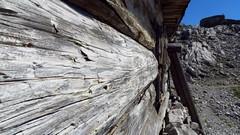 Holzwand der Geierwally Htte (Uli - www.auf-den-berg.de) Tags: mountain alps htte berge huts alpen innsbruck nordkette karwendel hafelekar geierwally