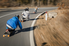Downhill skateboarding (Federico C. Photography (Bologna)) Tags: federicoc federico campeggi photographi fotografia longboard downhill longboarding skateboard skateboarding