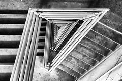 Down into the Vortex (RaulCano82) Tags: spiral spiralstaircase houston htx hou htown houstontx houstontexas ighouston raulcano canon canon70d city stairs staircase 70d wideangle vortex