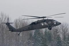 WINTERHAWK (Kaiserjp) Tags: 8524387 blackhawk ftlewis grayaaf jblm usarmy uh60 uh60a waarng nationalguard helicopter military puyallup washington wa kplu plu