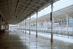 tren garı (alperfeldt) Tags: istanbul sirkeci train terminal station winter canon analog kodak