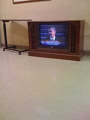 A more hopeful inauguration memory 1-20-09 (cbonney) Tags: president obama inauguration 2009 television nursing home tv