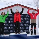 Tabor Western Ski Cross event Jan 2017 - U16 men podium Jan 22