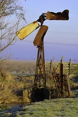 metal mill (arie alblas) Tags: windmill metalwindmill weidemolen molenwaard alblasserwaard oudalblas polder oldwindmill broken historie eos ef100400mm 750d vroeger