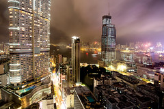 The View (Katka S.) Tags: hong kong china city huge architecture scyscraper eye bar view night clouds light lights colour colourful houses street streets cityscape fotocompetition fotocompetitionbronze fotocompetitionsilver