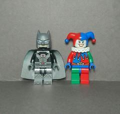Owlman & Jester (Vladislav Pavlovich) Tags: lego custom owlman jester minifigures dc