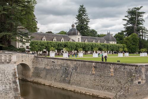 Le bâtiment des Dômesau Château de Chenonceau