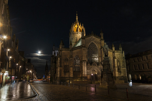 St Giles by Moonlight