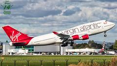 Virgin Atlantic B747 (Ramon Kok) Tags: aviation avgeek avporn airplane airport aircraft air airline airlines airfield airways man manchester manchesterairport manchesterringwayairport egcc unitedkingdom uk greatbritain england gb gvast virgin virginatlantic vs vir boeing 747 747400 boeing747