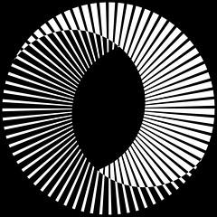 (chrisinplymouth) Tags: art geometric geometry cw69x lines radial curve symmetry symmetrical square cw69sq squareformat