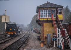 In All Weathers (Paul GF3) Tags: england ebasr embsaybolton abbey railway no35 norman ncb heritagerailway hunsletausterity hailstones yorkshire yorkshiredales outdoors locomotive railroad railwaystation tankengine watertower