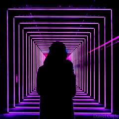 On Your Wavelength (Daniel Coyle) Tags: onyourwavelength marcuslyall winterlights winterlightsfestival canarywharf lights london danielcoyle nikon nikond7100 d7100 winter wwwmarcuslyallcouk dark silhouette led