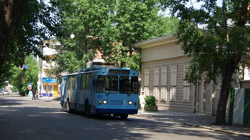 Irkutsk trolleybus VMZ-170 189 withdrawn in 2010 ©  trolleway