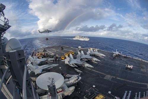 From flickr.com: USS Carl Vinson {MID-243688}