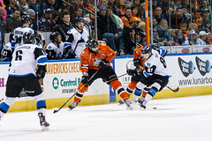 "Missouri Mavericks vs. Wichita Thunder, February 4, 2017, Silverstein Eye Centers Arena, Independence, Missouri.  Photo: John Howe / Howe Creative Photography • <a style=""font-size:0.8em;"" href=""http://www.flickr.com/photos/134016632@N02/32599598752/"" target=""_blank"">View on Flickr</a>"