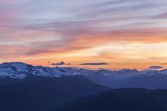 Wedgemount Peak Sunset (craigmdennis) Tags: mountains nature landscape outdoors hiking hdr wedge wedgemount