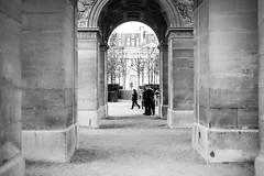 Under Carrousel du Louvre (Alexandre_C) Tags: bw paris france louvre carrousel