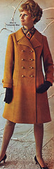 Pennys 68 fw gold wool coat (jsbuttons) Tags: winter fall clothing mod 60s buttons womens clothes catalog 1968 sixties pennys 68 jcpenny vintagefashion