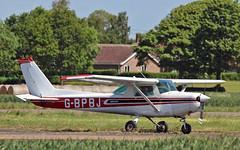 G-BPBJ Cessna 152 (PlanecrazyUK) Tags: cessna152 fly in sturgate 070615 egcv gbpbj
