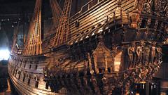 The man-of-war at the The Vasa Museum , Stockholm , Sweden (C.L.Quote) Tags: museum sweden stockholm warship vasa platinumheartaward photographyforrecreation
