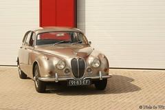 1968 Jaguar MK II 340 (NielsdeWit) Tags: 2 mark ede mk2 schuttersveld nielsdewit sidecode2 9183ef