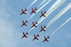 RIAT 26105 (kgvuk) Tags: hawk aircraft raf fairford riat raffairford theredarrows