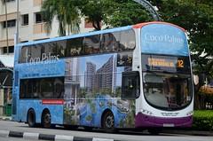 SBS Transit Volvo B9TL Wright Eclipse Gemini II (nighteye) Tags: bus eclipse volvo singapore wright sbstransit cocopalms b9tl geminiii eurov service12 weg2  sbs3759b resortlivingathome
