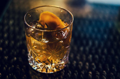 Old-fashioned (Melissa Maples) Tags: summer food orange bar turkey 50mm restaurant evening nikon asia drink trkiye cocktail alcohol nikkor barracuda afs oldfashioned     50mmf18g hisarn f18g d5100