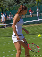 Andrea Petkovic | TrinDiego (TrinDiego) Tags: red england white green london germany andrea 14 lawn tennis german wimbledon tuzla wta racquet serve 2015 petkovic andreapetkovic  trindiego