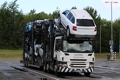 STOBART AUTOMOTIVE - WX55 CXF (GAZ SELLERS) Tags: cars mini automotive donnington eddie services stobart eddiestobart wx55cxf stobartautomotive