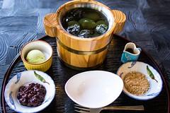 (Yorkey&Rin) Tags: summer japan olympus  tearoom kanagawa rin fujisawa 2015 japanesesweet em5  lumixg20f17   pc236638