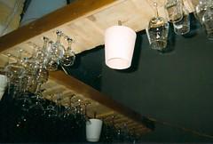 (bananaranie) Tags: light film lamp photography glasses wine grunge flash hipster pale minimalism disposible