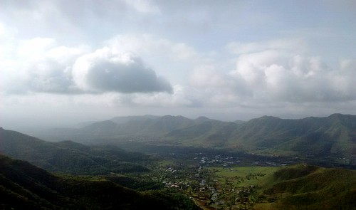 View from Sinhagad fort