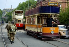 Crich at War (andrew_@oxford) Tags: museum vintage district peak 1940s tramway reenactors crich