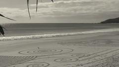 Sand@rt (YAZMDG (16,000 images)) Tags: beach sand patterns traces drawings australia tourists nsw byronbay mecca ephemereal sandrt