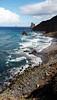 70 m down (kurbeltreter20) Tags: taganaga benijo playadebenijo tenerife teneriffa spain roquedebenijo roquederapadura puntadeldraguillo anaga coastline beach ocean sky blue
