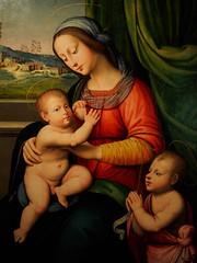 """Madonna and Child with Infant St John the Baptist"", A. del Ceraiolo, c. 1520 (Joey Hinton) Tags: olympus omd em1 cincinnati art museum mft m43 microfourthirds 1240mm f28"