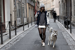 Blog de Lucinda Fashion Blogger (blogdelucinda) Tags: blog mode de lucinda fashion blogger french lyon lyonnaise street style streetstyle silver skirt metallic husky pataugas top