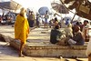 Sadu Walking About (qatbart) Tags: india varanasi sadu