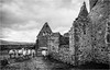 St Judes Church & School . (wayman2011) Tags: fujifilmxt10 lightroom wayman2011 bwlandscapes mono architecture churches religeousbuildings ruins derelict oldbuildings sheep pennines dales teesdale harwood countydurham uk