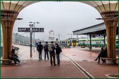 Under a Cork Kent canopy (Nodding Pig) Tags: cork kent railway station train ireland corcaigh countycork iarnródéireann irishrail republicofireland class201 dieselelectric locomotive generalmotors canopy 201609154200101