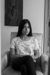 STARGIRL_13 (DAVID GOIRIS) Tags: nikon d3200 photoshoot black white blanco y negro paraguay py work mywork blancoynegro blackandwhite nikond3200 50mm nikkor50mm portrait retrato glitter purpurina brillos