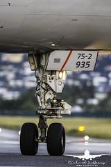 American Airlines B757-200 landing gear_AH3V5599 (RJJPhotography) Tags: sxm princessjulianainternationalairport tncm saintmaarten caribbean