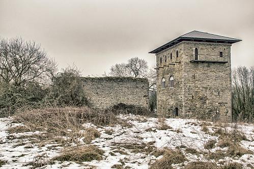 Jemeppe-sur-Sambre, donjon van Villeret
