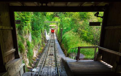Zubačka Reichenbachfallbahn z Willigen