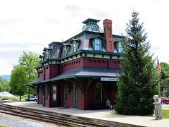 Railway Station, Burlington, Vermont, USA (duaneschermerhorn) Tags: architecture architect building structure burlington vermont usa america railway station train trainstation