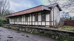 FORMER HALTON STATION (I.K.Brunel) Tags: railwaystation halton lune platform wood
