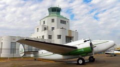 ATM and Lodestar N31G (MichaelB in Houston) Tags: 1940airterminalmuseum houston hou museum lodestar n31g airport airplane vintage